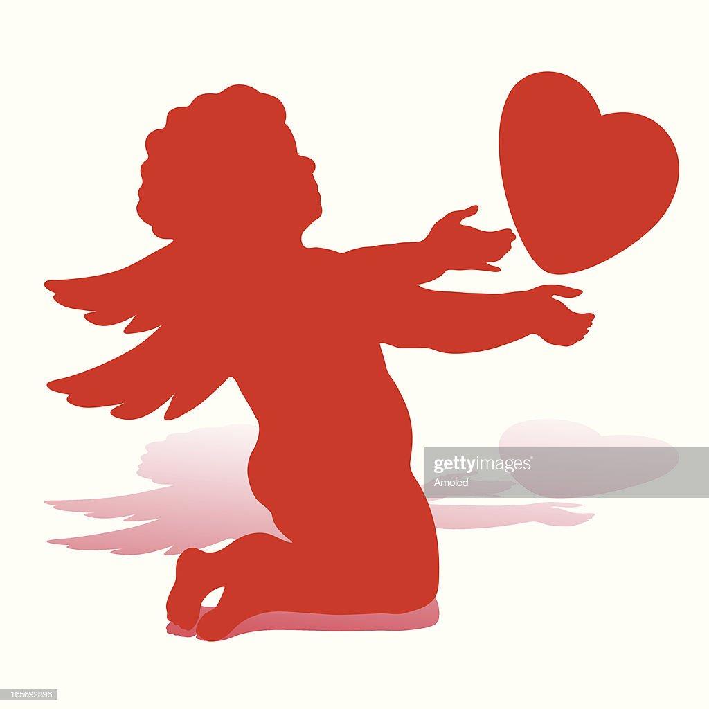 valentine angel clipart - photo #45
