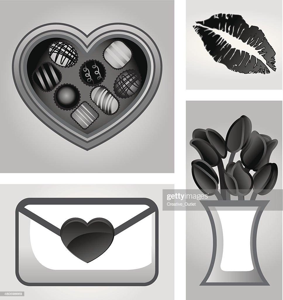 Valentine Montage : Vector Art