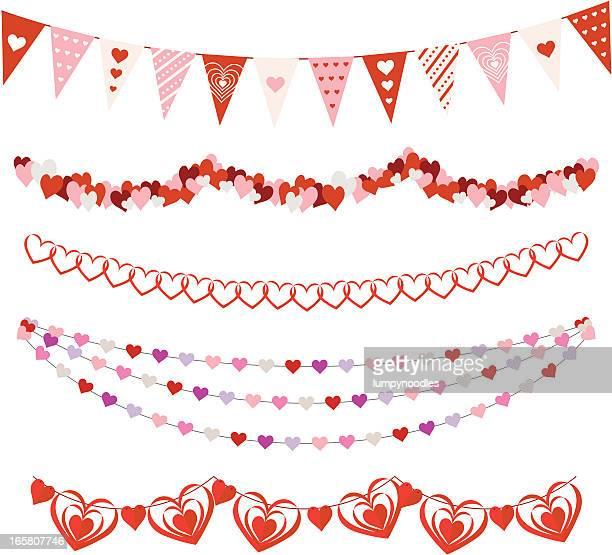 Valentines Day Garlands
