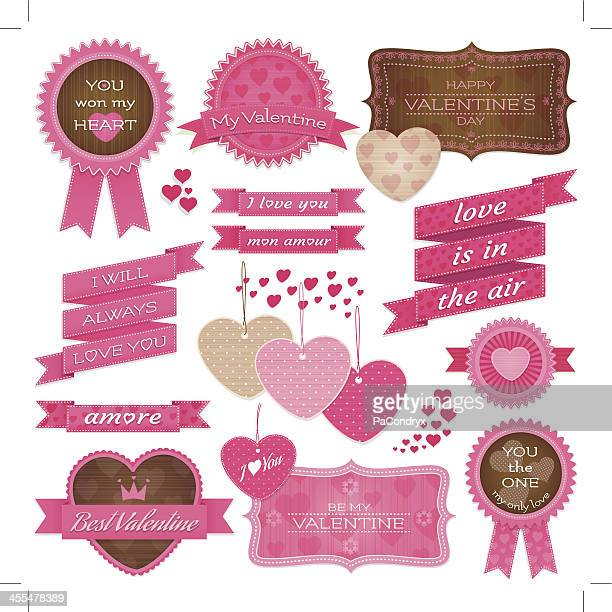 Valentine's Tags and labels