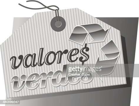 Valores Heading : Vector Art