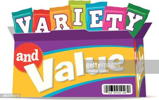 Variety Heading C : Vector Art