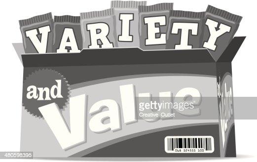 Variety Heading : Vector Art
