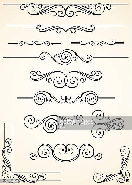 Cloisons décoratives et Corners