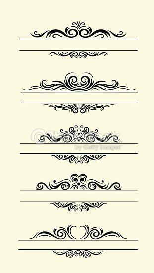 various label borders decoration vector art thinkstock