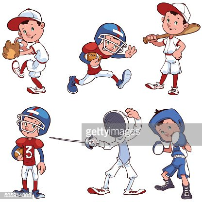 Various Sports : Vector Art