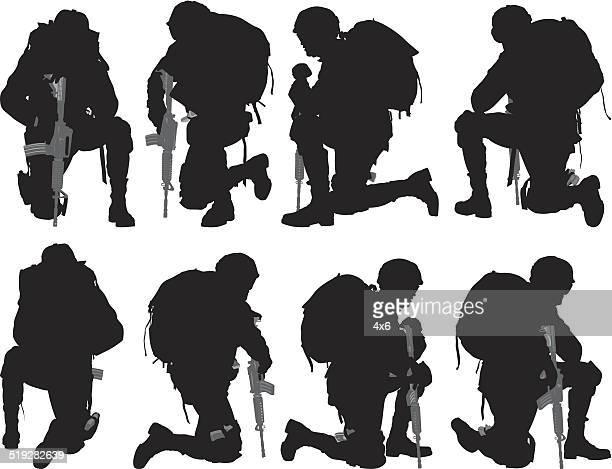 Various views of soldier