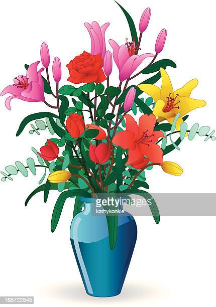 Bouquet Stock Illustrations And Cartoons Getty Images