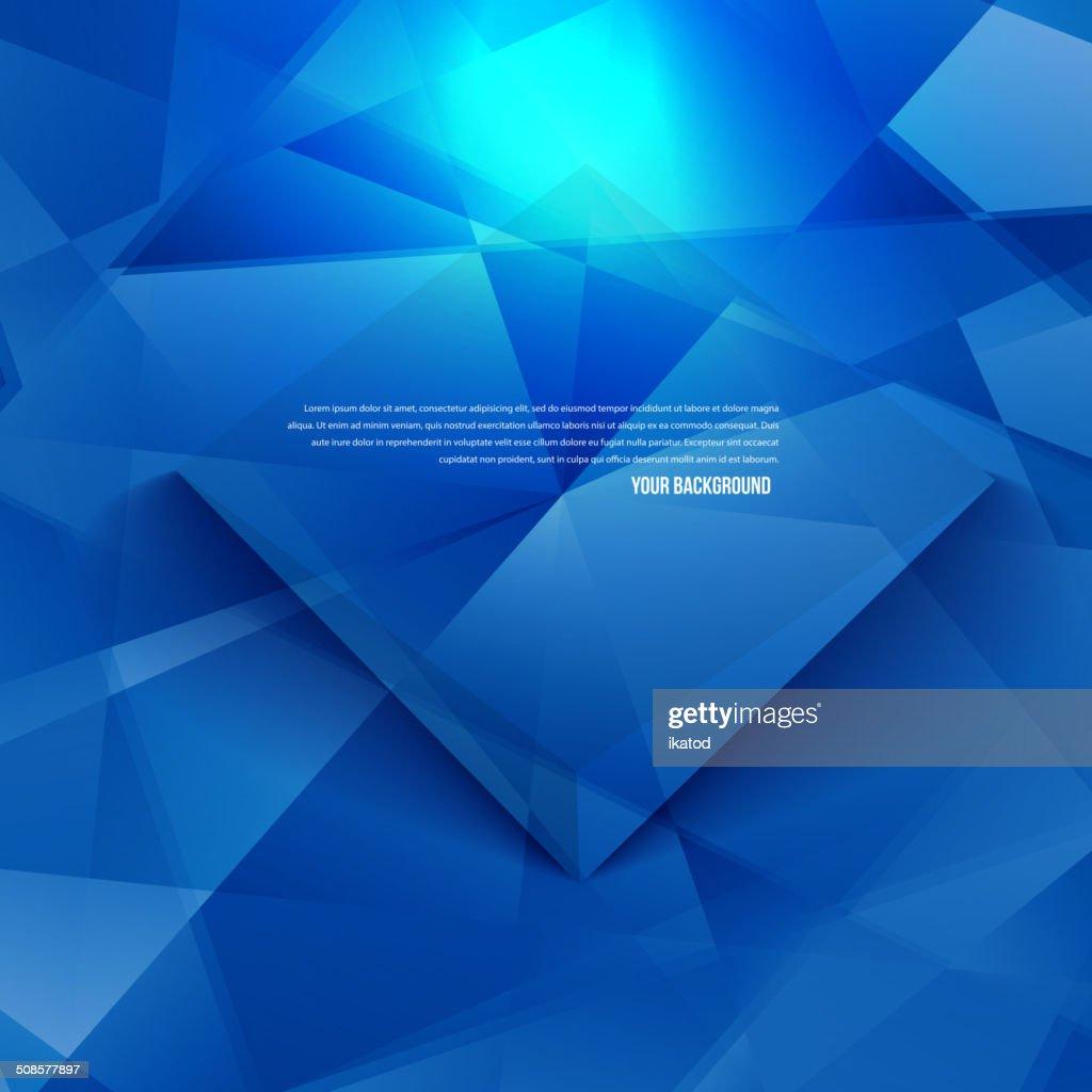 Vektor 3d Banner und squares. Design : Vektorgrafik
