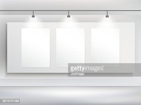 Vector 3d Blank Billboard Template Vector Art Thinkstock