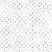 Vector abstract background with pattern of overlapping circles