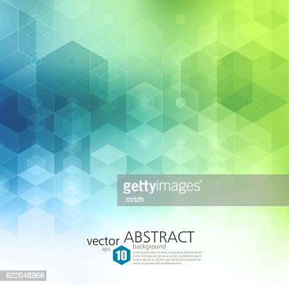 Vector Abstract geometric background. Template brochure design : Vector Art