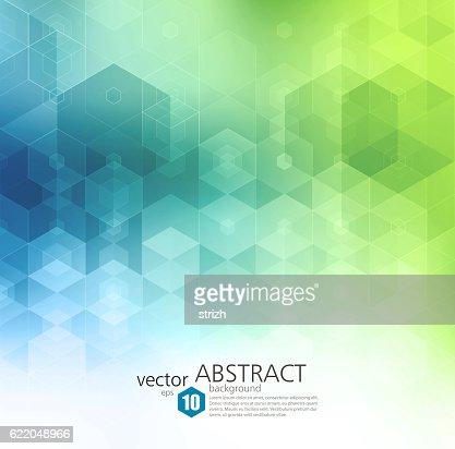 ベクトル抽象的な幾何学の背景。パンフレットデザインテンプレート : ベクトルアート