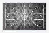 Vector Basketball Field.vector