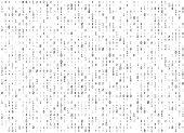 Binar code background