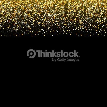 Vector black background with gold glitter sparkle greeting card vector black background with gold glitter sparkle greeting card template vector art m4hsunfo