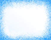Vector blue ice background. Eps8. RGB. Global colors