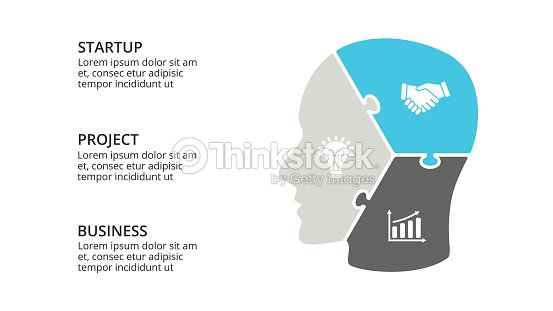 Vector Brain Infographic Template For Human Head Diagram Knowledge
