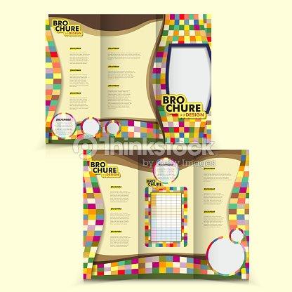 Vector Brochure Layout Design Template Vector Art Thinkstock
