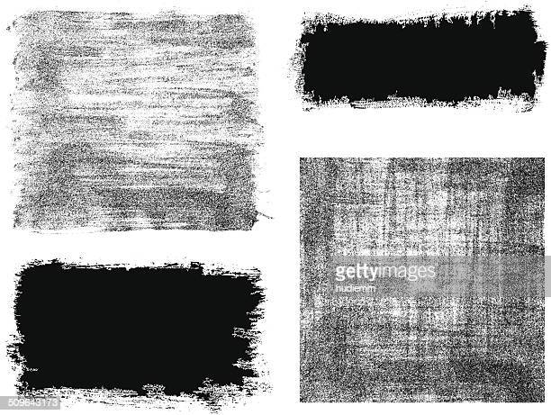 Vector brush stroke frame background textured