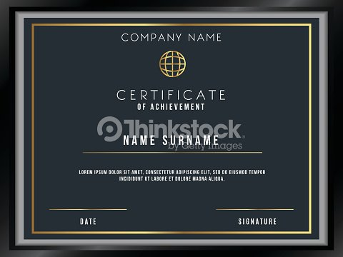 Vector certificate template with premium minimal design vector art vector certificate template with premium minimal design vector art maxwellsz