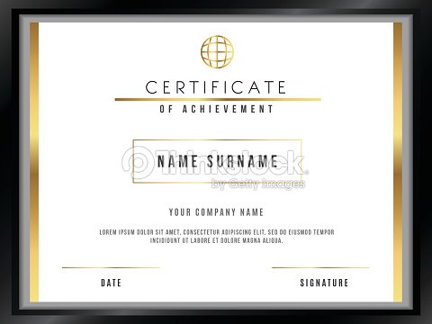 Vector certificate template with premium minimal design vector art vector certificate template with premium minimal design vector art yadclub Choice Image
