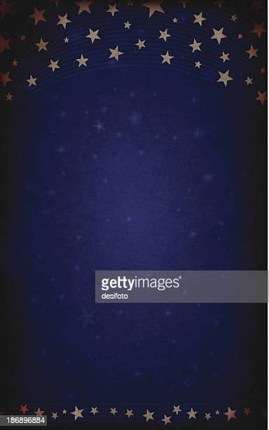 Vector Christmas Starry Background