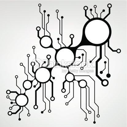 Eps10 Vector Circuit Board Background Texture Vector Art | Thinkstock