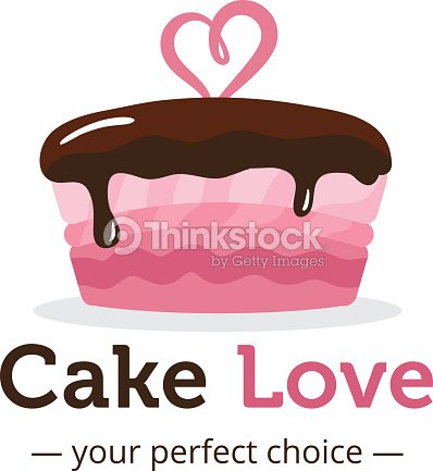Vector Cute Shiny Pink Cake Symbol Vector Art Thinkstock