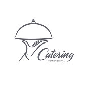 Vector design. Catering service