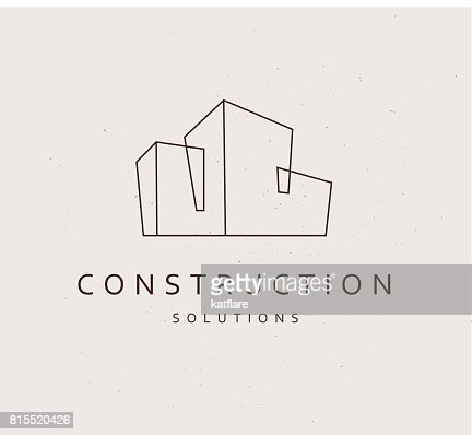 Vector flat construction company : Vector Art