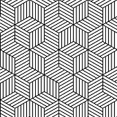 Vector white background - seamless texture for graphic or website template layout , Interior wall decoration. 3D Vector interior wall panel pattern. Geometric linear cubic design.