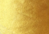 Vector golden foil background template for cards, hand drawn horizontal backdrop - invitations, posters, cards.