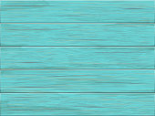Vector wooden background. Old wooden shabby green planks.