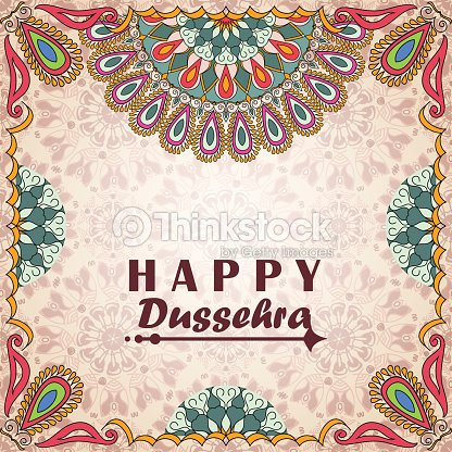 Vector greeting card to indian festival vijayadashami happy dussehra vector greeting card to indian festival vijayadashami happy dussehra vector art m4hsunfo
