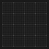 Vector grid marking for user HUD interface. Grid digital, system grid hud screen, interface hud, electronic virtual hud illustration
