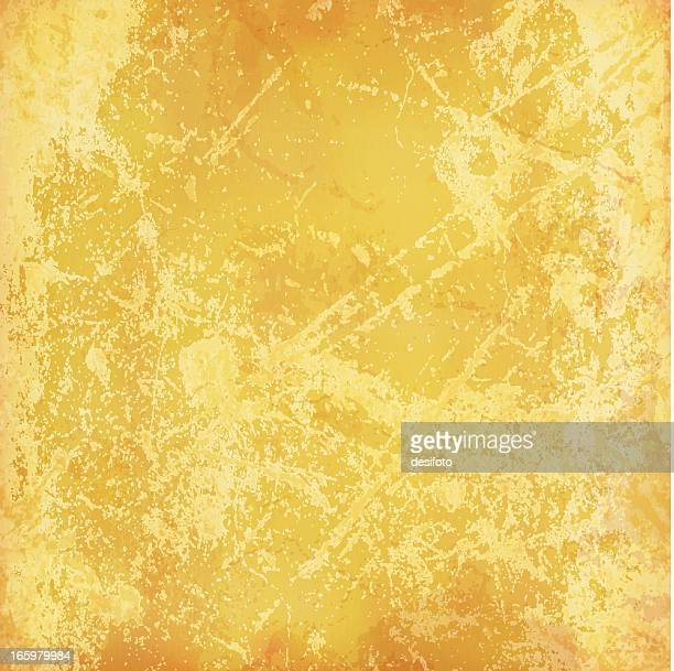 Vector grunge muted yellow background