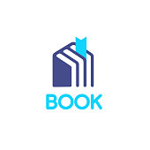 Vector icon design for books store
