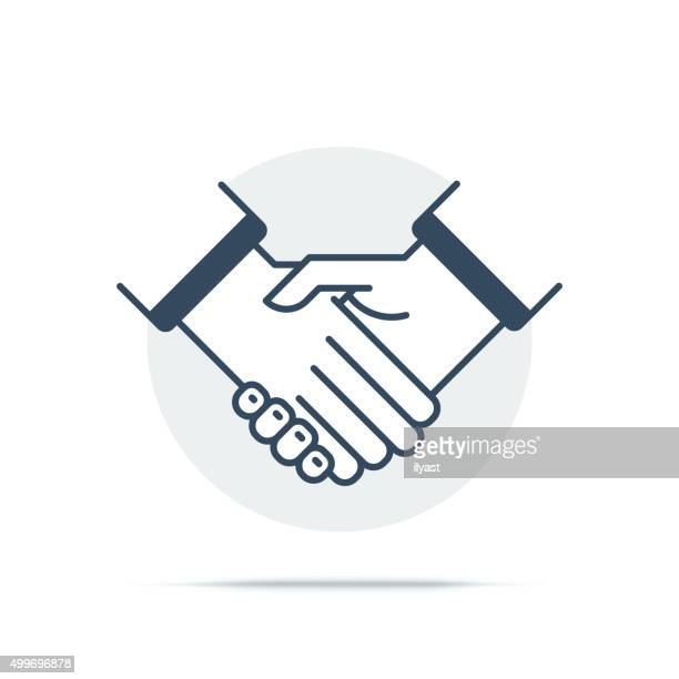 Vector Icon of Agreement