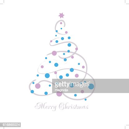 Vector illustration abstract Christmas Tree : Vector Art