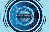 Data, Technology, Backgrounds, Circuit Board, Blue