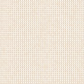 Vector illustration Handmade knitted background seamless pattern. Scandinavian ornaments hipster ugly sweater. White, beige color. Flat style