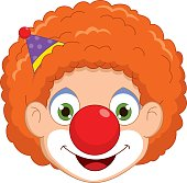 Vector Illustration Of A Clown