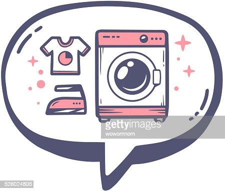 Washing Machine Vector