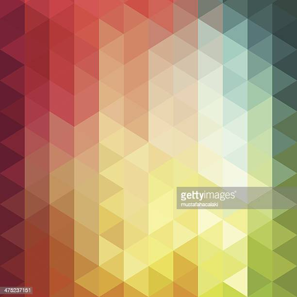 Vector illustration of colorful cube background