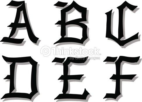 Illustration vectorielle de style gothique des lettres de lalphabet illustration vectorielle de style gothique des lettres de lalphabet clipart vectoriel thecheapjerseys Image collections