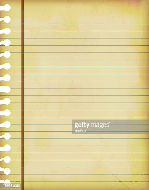 lined paper stock illustrations and cartoons getty images