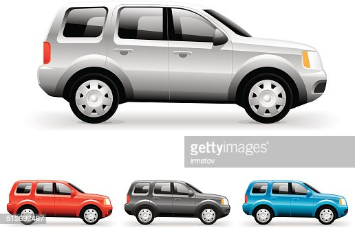 Suv Vector Image Vector Art Getty Images