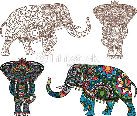 vecteur l phant indien clipart vectoriel thinkstock. Black Bedroom Furniture Sets. Home Design Ideas