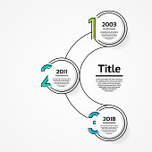 Vector infographic template for diagram, graph, presentation and chart. Business concept with 3 options, parts, steps or processes